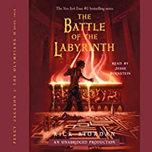 The Battle of the Labyrinth: Percy Jackson, Book 4: Percy Jackson and the Olympians, Book 4 Audiobook by Rick Riordan Narrated by Jesse Bernstein