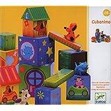 Djeco / Cubanimo 17-Piece Nesting Block Set with Animal Friends