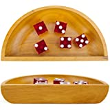 "7"" Wooden Craps Dice Boat by Brybelly"