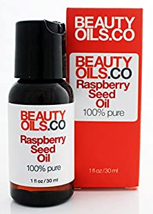 buy Beautyoils.Co Raspberry Seed Oil - 100% Pure Cold-Pressed (1 Fl Oz)