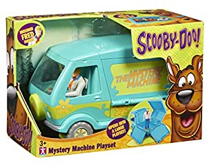 scooby doo mystery machine playset fred van pour. Black Bedroom Furniture Sets. Home Design Ideas