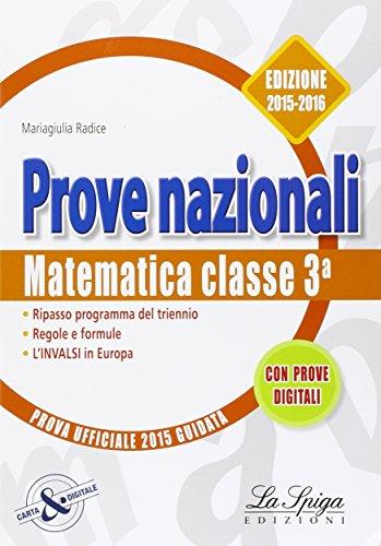 Matematica Prove nazionali INVALSI Per la 3 classe della Scuola med PDF