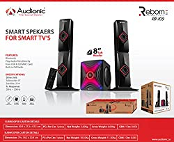 Audionic Reborn RB 109 Fusion of Light & Sound Smart Speakers with Bluetooth USB/MMC/SD Card Port Built in FM Radio