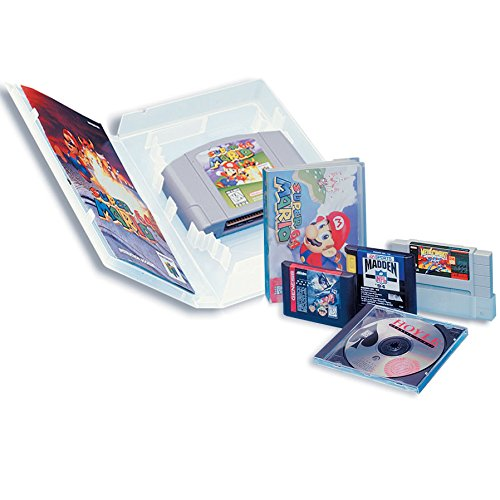 Enabled Universal Video Game Case with Full Sleeve Insert (3-pack) - Super NES (Top Gear Super Nintendo Games compare prices)