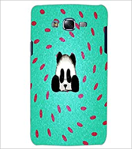PrintDhaba Panda D-4360 Back Case Cover for SAMSUNG GALAXY ON 5 (Multi-Coloured)