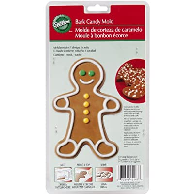Wilton Bark Candy Mold, Gingy