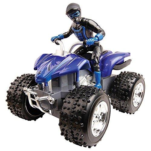 Blue Hat R/C Sport Quad All Terrain Vehicle Blue