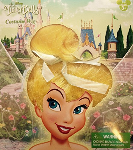 Disney Parks Tinkerbell Fairy Costume Wig
