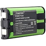 eForCity 2 x Phone Battery for Panasonic HHR-P104 HHR-P104A New