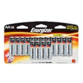 Energizer Max Alkaline Batteries, AA or AAA, 16-Count