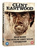 The Clint Eastwood Westerns Collection (Unforgiven/Pale Rider/Outlaw Josey Wales) [DVD]