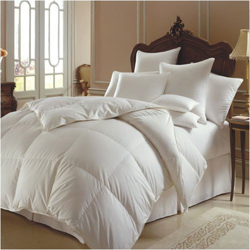 300 Thread Count White Goose Down Comforter -