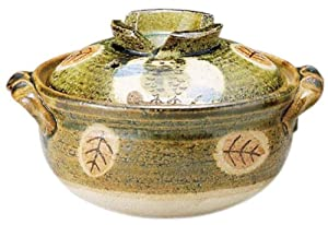 Banko ware porridge pot No. 5 for one person Owl 17-05487 (Japan import / The package and the manual are written in Japanese)
