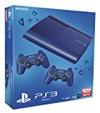 PlayStation 3 - Consola 500 GB + DS3, Color Azul