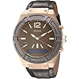 GUESS Men's C0001G2 GUESS CONNECT Chic Fashionable Brown Smartwatch Where Fashion Meets Lifestyle Functionality