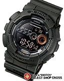 カシオ Gショック GD-100MS-3DR ミリタリーテイスト 高輝度LED CASIO G-SHOCK グリーン 並行輸入 [時計] [時計]