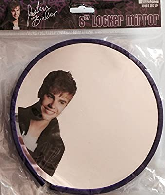 "1 X Justin Bieber 6"" Locker Mirror"