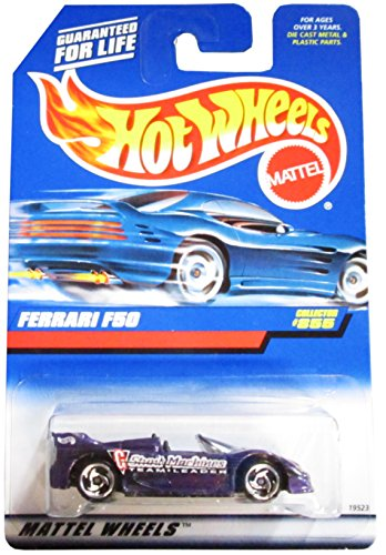 Hot Wheels 1998 1:64 Scale Purple Ferrari F50 Die Cast Car Collector #855 - 1