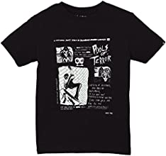 Billabong Terror T-Shirt manches courtes Garçon Noir FR : 16 ans (Taille Fabricant : 16)