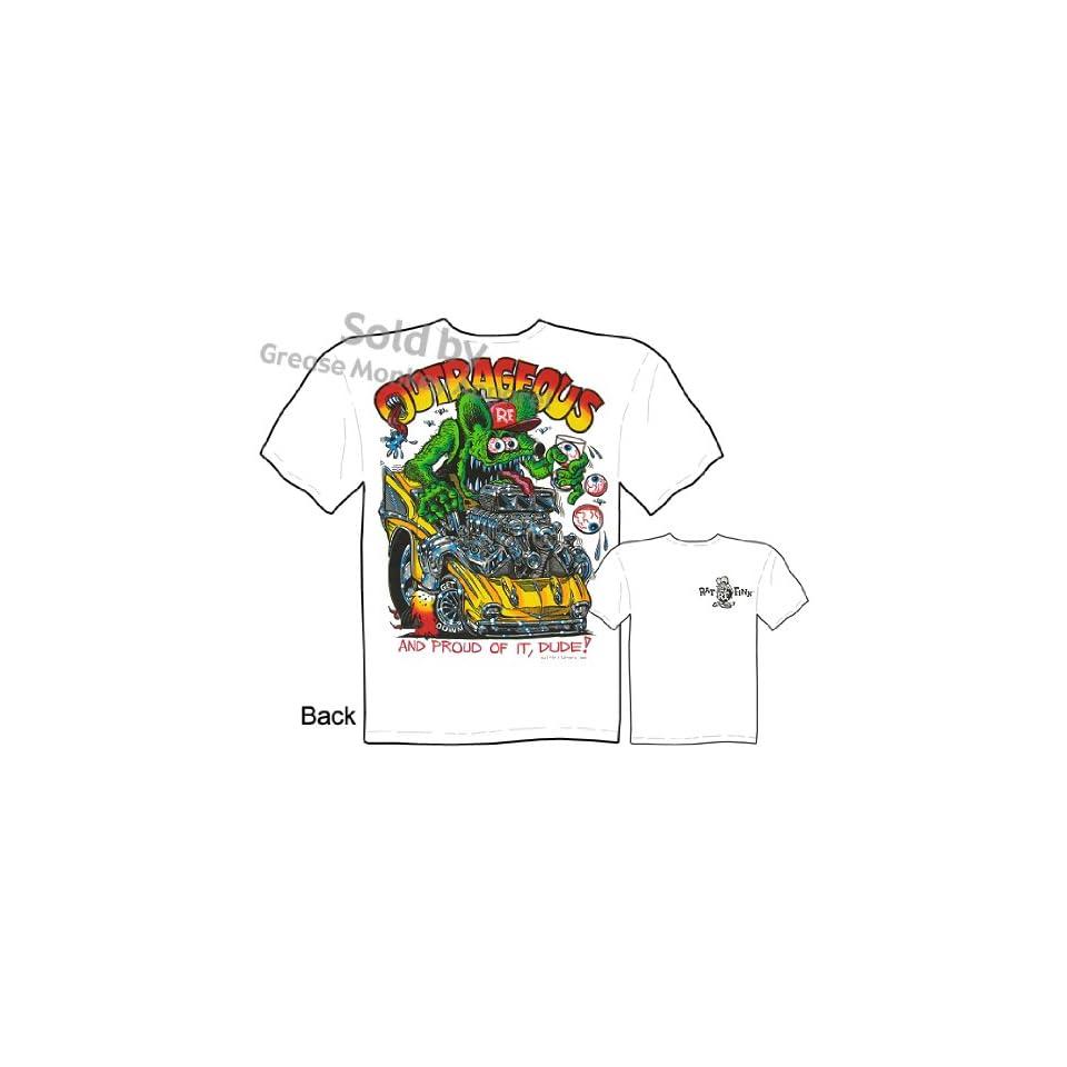 55 Chevy Rat Fink T Shirt Big Daddy T 1955 Ed Roth Clothing Sz M L XL 2XL 3XL