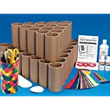 S&S Worldwide Collage Containers Craft Kit (Makes 48)