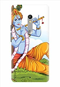 Noise Designer Printed Case / Cover for Motorola Moto X Play / Festivals & Occasions / Krishna Loves Flute Design
