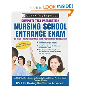 Nursing School Entrance Exam LearningExpress Editors