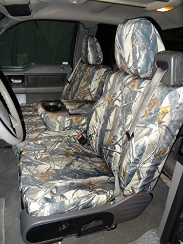 Durafit Seat Covers F369-XD3-C - Ford F150 Xcab Front 40/20/40.Seat belts come from top of seat, NOT FOR DOUBLE CAB XD3 Waterproof Camo Endura (Seat Belt Covers Ford compare prices)
