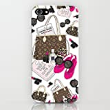 iPhone5ケース/Louis Vuitton(ルイヴィトン)/バッグ/イラスト/SoftBank/au/docomo/耐衝撃/スマホ/カバー