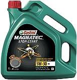 Best Engine Oils - Castrol MAGNATEC STOP-START Engine Oil 5W-30 A5, 4L Review