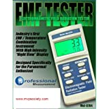 Mel-8704 Paranormal Instrument with EMF Meter - Ambient Thermometer - Light Source
