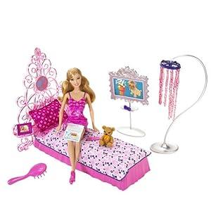 Mattel - N4894 - Poupée - Coffret - Chambre Rose + Summer