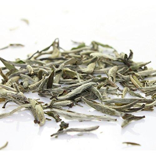 Organic White Silver Needle Loose Tea Tea - Bai Hao Yinzhen White Tea (4oz / 110g) (Organic White Silver Needle compare prices)