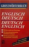 img - for Grossw rterbuch Englisch Deutsch German English Dictionary book / textbook / text book