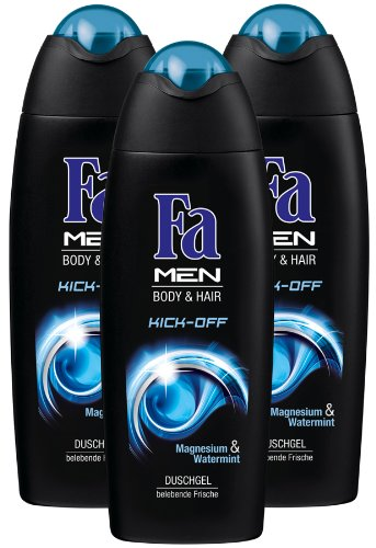 Fa Duschgel Men Kick-off, 3er Pack (3 x 250 ml)