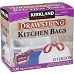 Kirkland Signature Drawstring Kitchen...