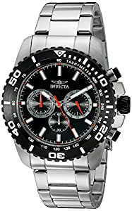 Invicta Men's 19842SYB Pro Diver Analog Display Quartz Silver Watch