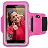 Sport Armband for iPhone 5|5s|5c, 4|4s, iPod Touch [Pink] -...