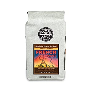 The Coffee Bean & Tea Leaf, Hand-Roasted French Roast Ground Coffee