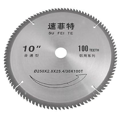 Online Seek for 100 Teeth 250mm Outside Dia Aluminum Cutting Alloy Circular Saw Blade