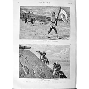 Amazon.com: 1882 Egypt Forts Aboukir Bay Soldier Kelly Navy ...