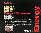 GNC Mega Men Energy Vitapak, 30 Packs