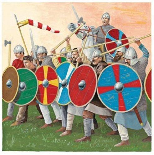 Revell Modellbausatz 02551 - Angelsachsen, 1066