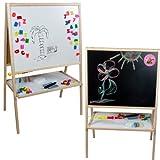 Standkindertafel 100x64cm Abakus Standtafel Kindertafel Magnettafel Maltafel hergestellt von toys4u