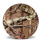 Mossy Oak Break Up Infinity Round Melamine Salad Plate (8-1/2-Inch)