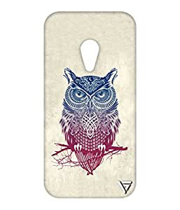 Vogueshell Olw Printed Symmetry PRO Series Hard Back Case for Motorola Moto G2