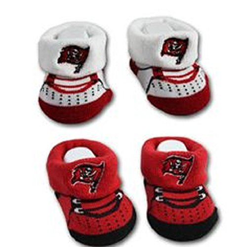 Infant Tampa Bay Buccaneers For Bare Feet Big Logo Name Sock