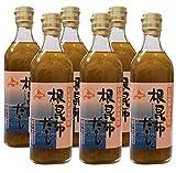 アイビック食品 北海道日高産 根昆布だし 6本セット (500ml×6本)