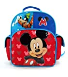 Disney - Mickey Mouse 12 Toddler Backpack - Hide and Seek with Goofy