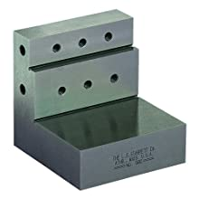 """Starrett 580 Precision Angle Plate, 3"""" x 3"""" x 3"""" Size"""